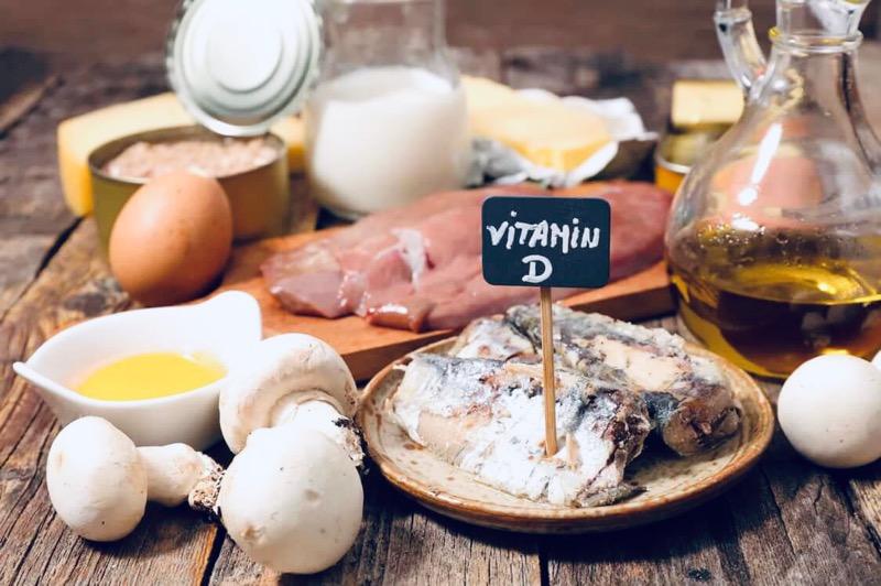 Витамин D в продуктах