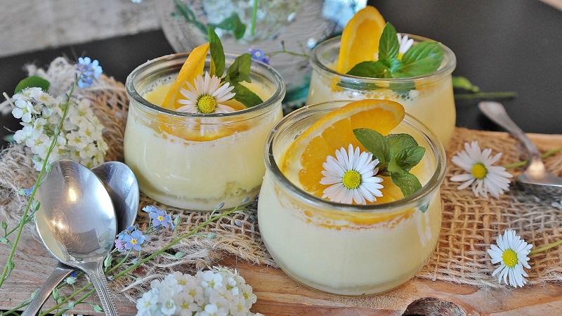 Апельсиновый сладкий крем