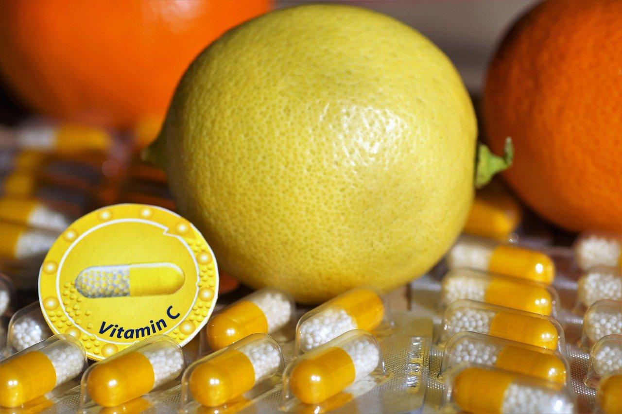 витамин с и лимон
