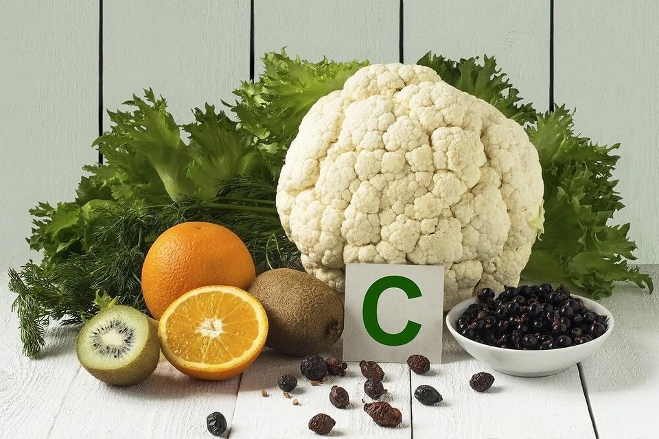витамин ц в продуктах